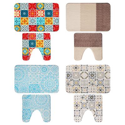 Набор ковриков для ван и туалета 45*70см+45*45см 462-690