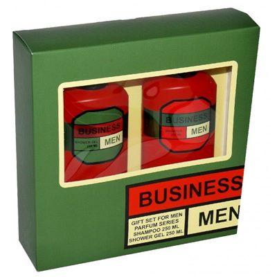 Набор подарочный муж. BUSINESS MEN (шамп. 250 + гель д/душа 250)