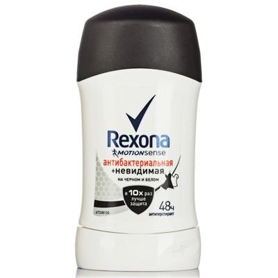 Дезодорант жен Рексона сухой 40мл Антибакт невидимый