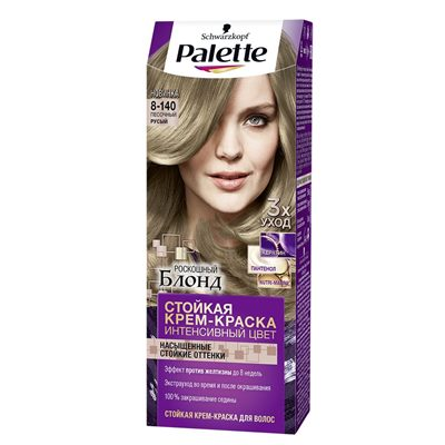 Краска для волос Palette 8-140 Песочный русый