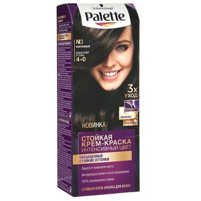 Краска для волос Palette N3 Каштановый