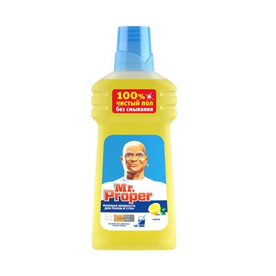 Жидкость для пола М Пропер 750мл Лимон