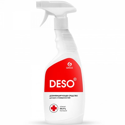 Антисептик Grass DESO 600мл дезинф ср-во с расп.