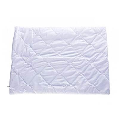 Чехол на подушку 50*70 м/ф стеганый белый на молнии