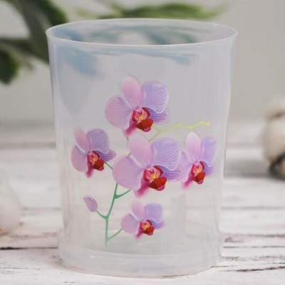 Горшок цветочный для орхидей 1,2л М1603 прозр
