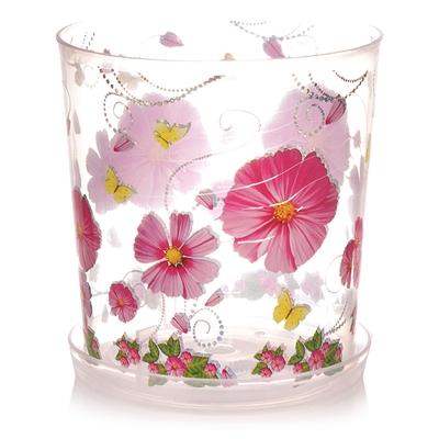 Горшок цветочный Камилла для орхидей 1,2л М2799 прозр