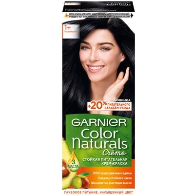 Краска для волос Garnier Color Naturals №1+ ультра черный