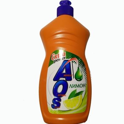 Жидкость для посуды AOS 450мл (АОС) Лимон